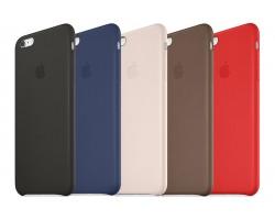 Кожаный чехол Apple Case для iPhone 6 \ 6Plus